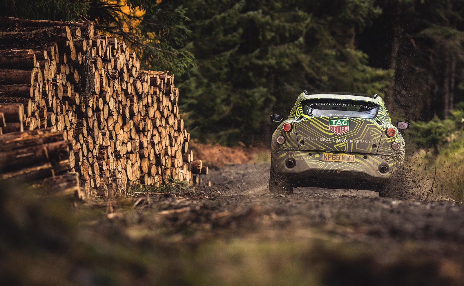 Foto de Aston Martin DBX, primeras imágenes (13/13)