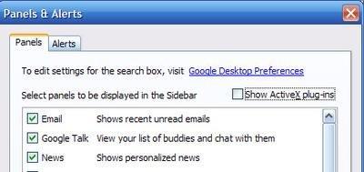 Integrar Google Talk en la barra Google Desktop