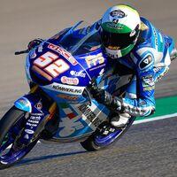 El novato Jeremy Alcoba manda en los FP2 de Teruel pero Jaume Masiá sigue siendo el más rápido de Moto3