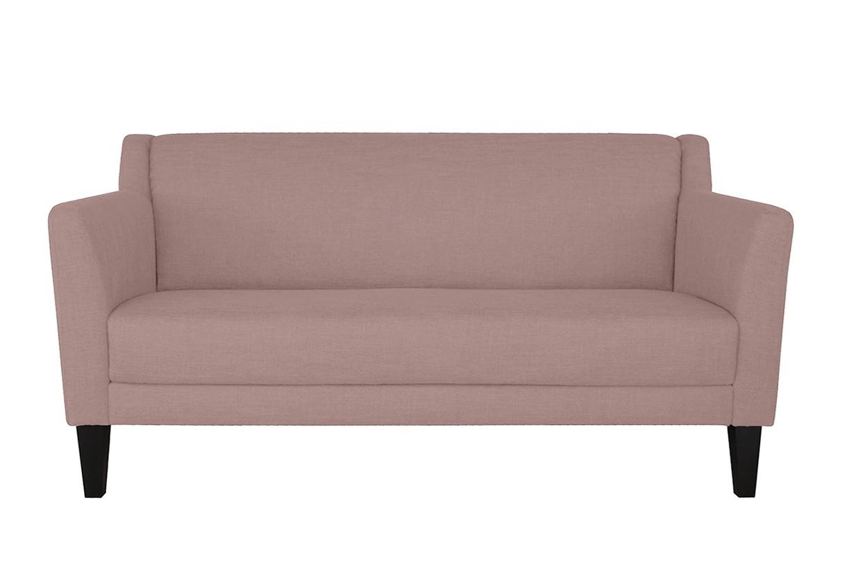 Sofá de tres plazas compacto