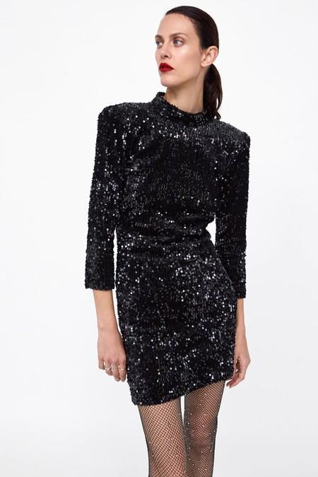 Zara Vestidos Lentejuelas 01