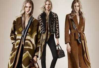 La Pre-Fall Collection 2015 de Burberry Prorsum: todo un desfile de exclusivos abrigos