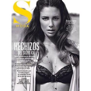 Blanca Suárez toda sexy enseñando cacho para S Moda