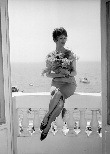 Loren Cannes Festival look