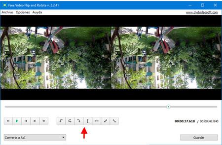 como voltear video en windows media player