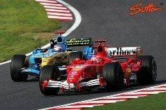 Adelantar a Schumacher a 4G... por fuera