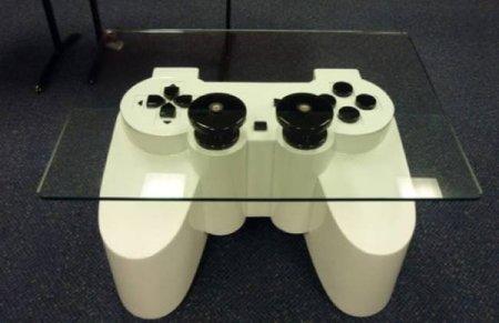 Una mesa inspirada en la Play Station