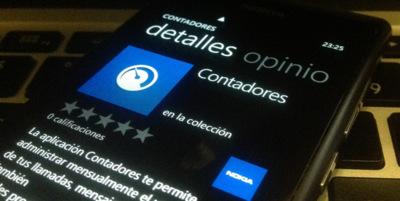 Contadores, controla tu consumo desde Nokia Collection