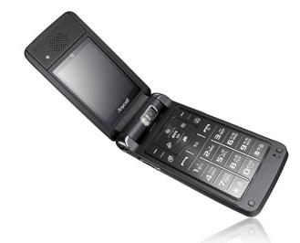 Samsung SCH-W570, con dos pantallas