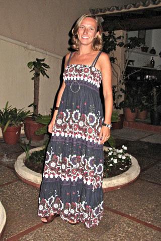 vestido largo pasley