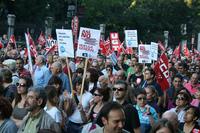 Los sindicatos ultiman una huelga general para el 14 de noviembre