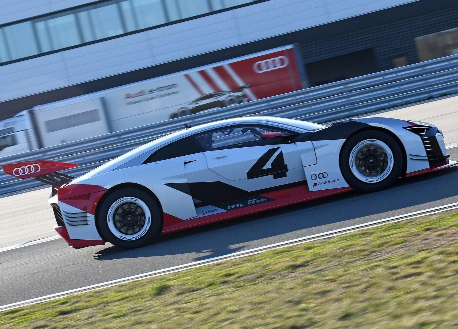 Foto de Audi e-tron Vision Gran Turismo Concept (11/12)
