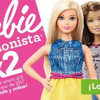 3x2 en Barbie fashionista en Toys 'r us