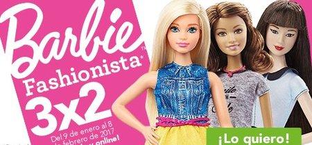 3x2 en Barbie fashionista en Toys 'r us