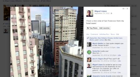 Facebook aplica su nuevo visor de imágenes a todos los usuarios