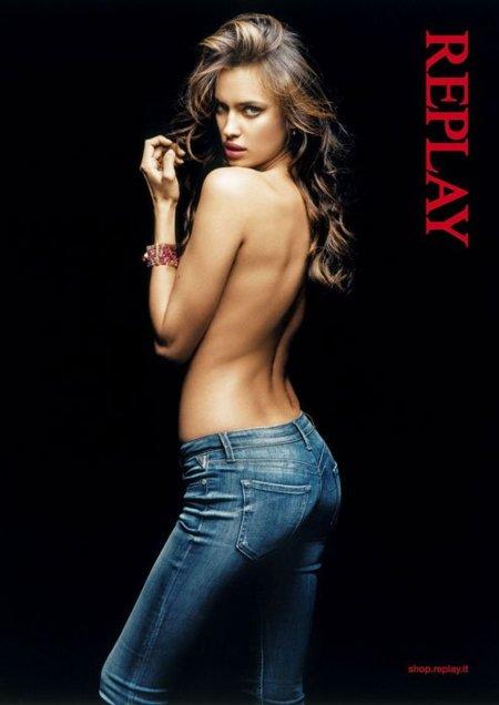 Irina Shayk nos muestra su lado más seductor como imagen de Replay