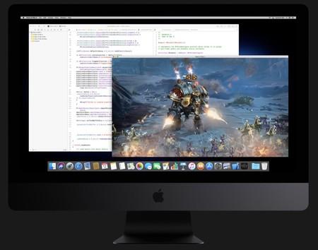 Xcode ejecutando un juego para Mac en 3D