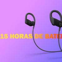 Deporte al ritmo de la música con los auriculares Bluetooth Powerbeats: hasta 15 horas de batería y chip H1 a 109 euros en Amazon