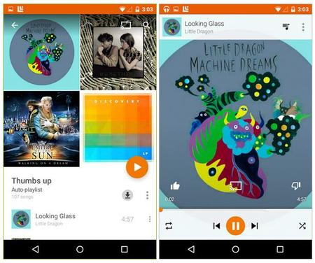 Google Play Music 2 1