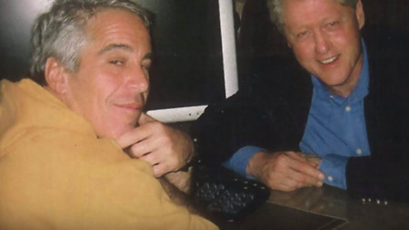 Jeffrey Epstein With Bill Clinton