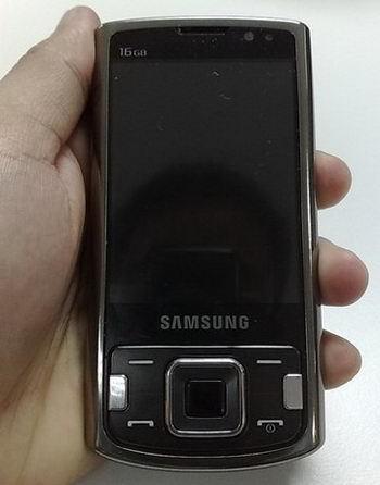 Samsung i8510, con cámara de 8 megapíxeles