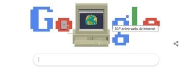 Internet no es la WWW aunque hasta Google lo diga, y tampoco es su 30 aniversario (sino el de la WWW)