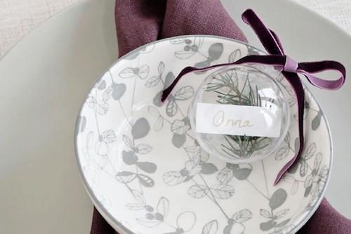 Hazlo tú mismo; unos originales meseros personalizados para la mesa de navidad