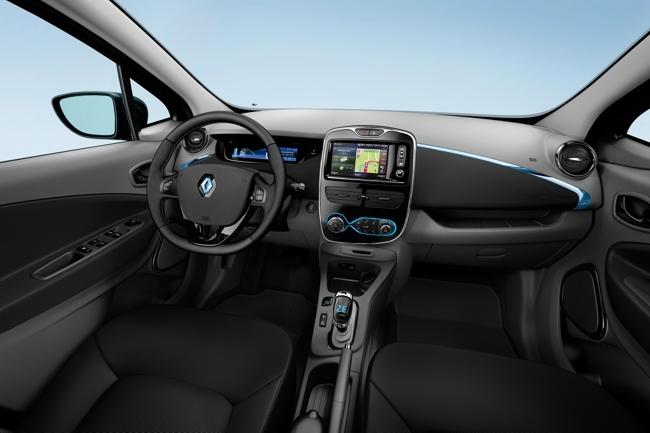 Renault ZOE interior de la versión Intens