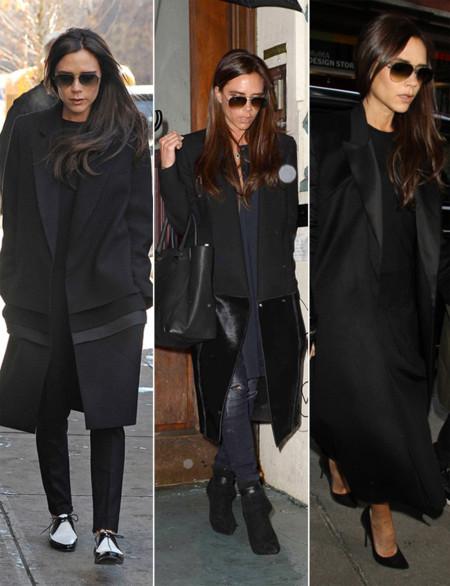 Victoria Beckham abrigos largos
