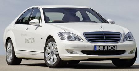 Mercedes-Benz S 400 BlueHYBRID, el primer híbrido de Mercedes