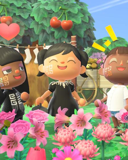 Ahora podemos personalizar el look de maquillaje de nuestro personaje de Animal Crossing: New Horizons de la mano de Givenchy
