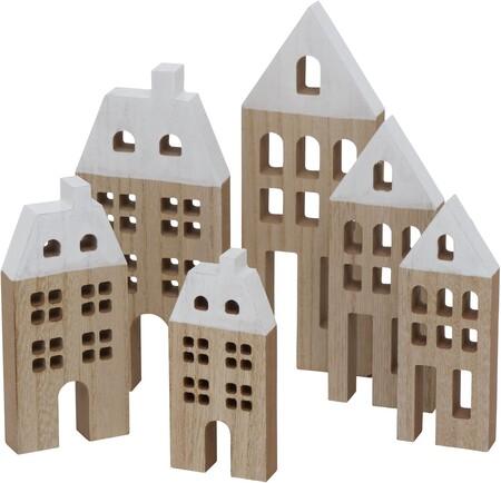 Pack de casas decorativas