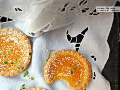 Jam tarts o tartaletas de mermelada. Receta tradicional británica