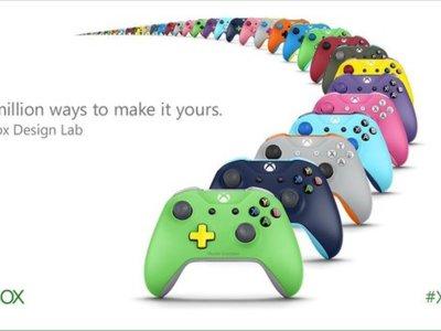 8 millones de posibilidades distintas para que crees un mando de Xbox One al gusto [E3 2016]