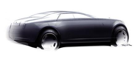 Rolls-Royce RR4, el modelo de entrada de gama será presentado en Ginebra
