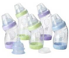 Biberón VentAire, para el paso de la lactancia materna al bibe