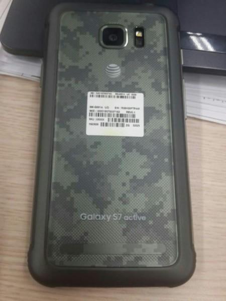 Samsung Galaxy S7 Active se filtra en fotografías