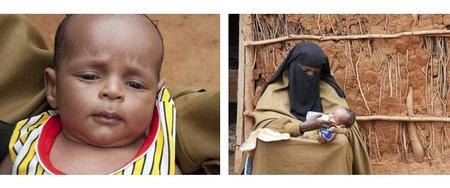 Familias somalís abandonan a sus bebés en el campo de Dadaab