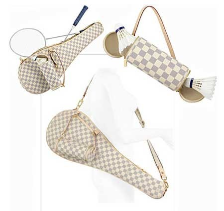 Badmington con estilo a Louis Vuitton