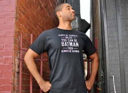Una de camisetas con mensaje