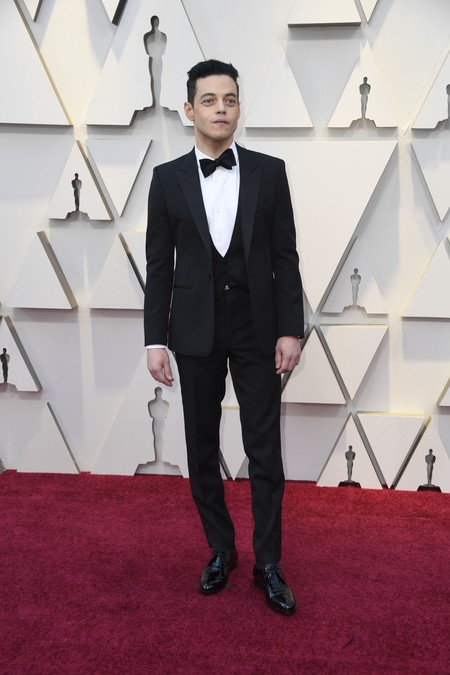 Rami Malek Oscars 2019 Red Carpet 2
