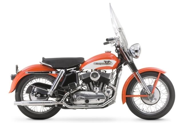 Harley Davidson 1965 KH de Elvis Presley