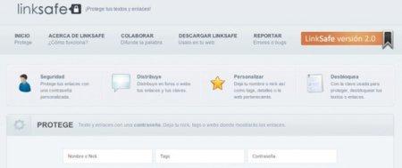 LinkSafe: comparte y protege tus enlaces con una contraseña