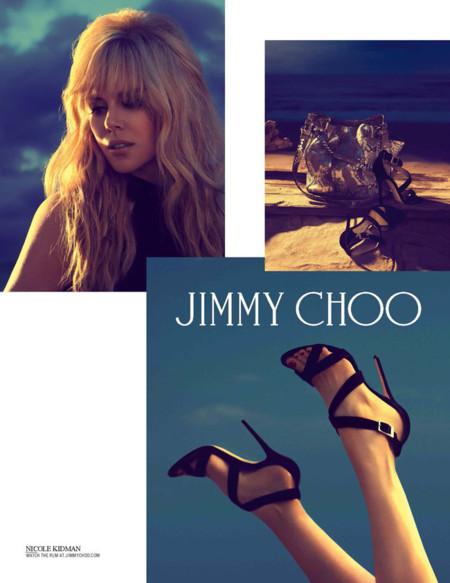 Nicole Kidman repite como imagen de Jimmy Choo