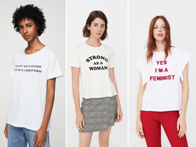 Mango Camiseta Feminista