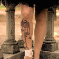 Si no te atreves a hacerte ese tattoo con el que siempre soñaste, esta marca tiene una gran solución