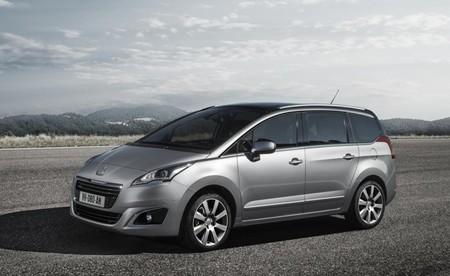 Peugeot 5008 2014 gris