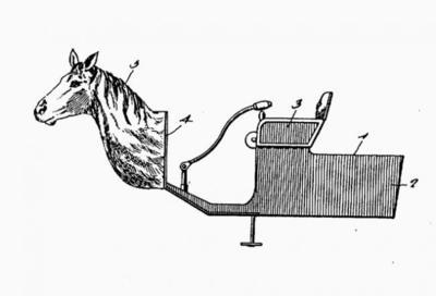 ¿Cómo se querían evitar accidentes de tráfico en 1899? Con una cabeza de caballo