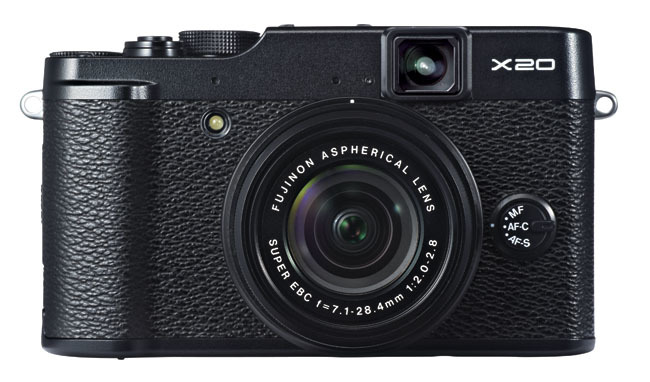 Fujifilm X20 frontal