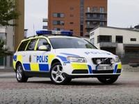 El Volvo V70 se viste de policía